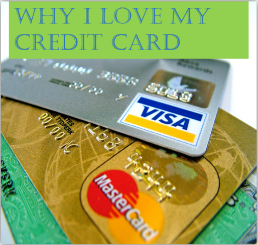 Why I love my credit card image